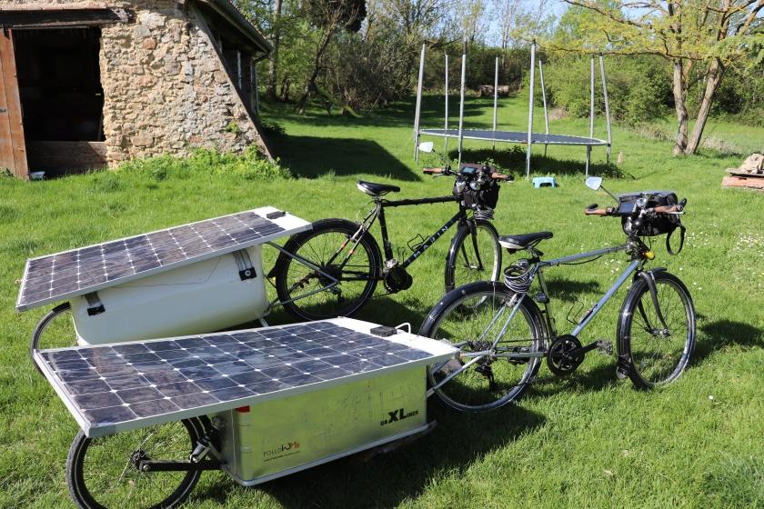 Vélos electriques solaires