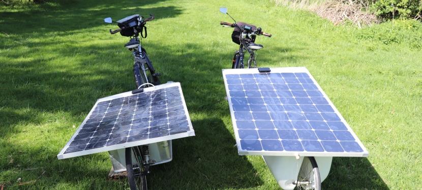 Nos vélos électriquessolaires