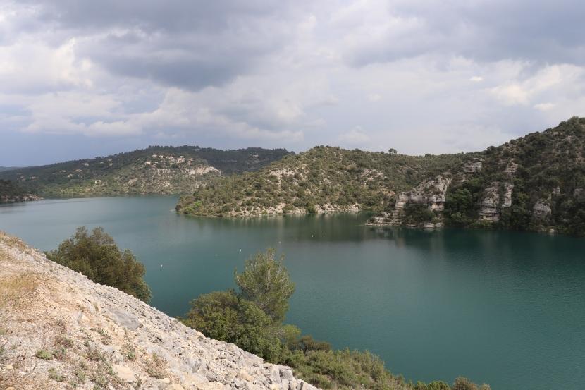 La Provence, de la lavande, du dénivelé et l'orage!