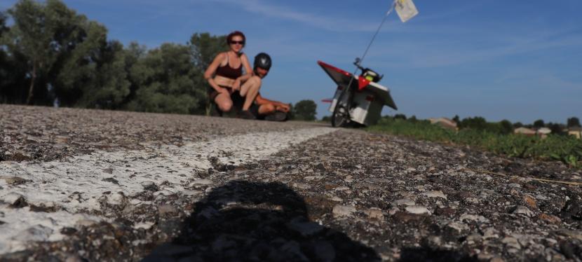 La Plaine de Pô. 400 kms de pistescyclables